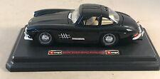 Burago 1/24 Scale Model Car 1954 Mercedes Benz 300SL - black