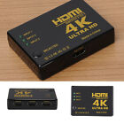 4Kx2K 3 in 1 Out HDMI Switch Hub Splitter TV Switcher Ultra HD for All 3D HDTV