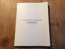 2000 Catálogo Catalogue - CARTIER - Collection Privée - Spanish - Tortue Tank