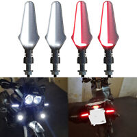 4Pcs Universal Motorcycle 24 LED Turn Signal Light Indicator Blinker Lamp Amber
