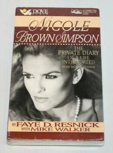 Nicole Brown Simpson The Private Diary of a Life Interrupted cassette audiobook