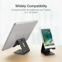 Universal Aluminum Desktop Desk Stand Holder Mount For Cell Phone iPhone Tablet