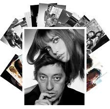 Postcards Pack [24 cards] Serge Gainsbourg & Jane Birkin Music Vintage CC1300