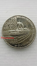 1995*UNC*ALDERNEY 50TH ANNIVERSARY THE RETURN OF THE ISLANDERS £2 TWO POUND COIN