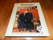 REMNANTS The Last Jews Of Poland Jewish Polish Peoples Judism History Book