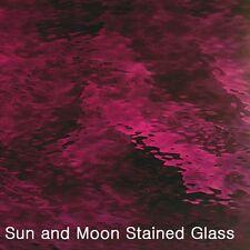 "8X10"" Spectrum Glass Sheet S 146W Dark Purple Waterglass Stained Glass Sheet"