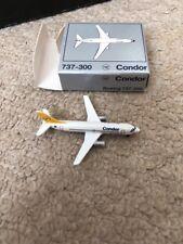 Schabak 1:600 Scale Condor Airlines Boeing 737-300 Passenger Aircraft BNIB