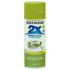 Rust-Oleum 340g Satin Green 2 X Ultra Cover Spray Paint