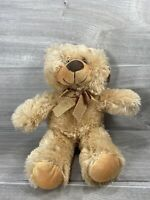 "Miri Moo Golden Brown Bear - Soft Toy -Teddy - Plush - With tags on - 10"" Seated"