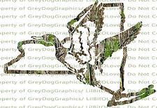 Camouflage Camo New York Duck Hunter Hunting Vinyl Decal Sticker Fowl Drake