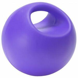 "Tough 1 Molded Purple Vinyl Horse 6"" Play Ball horse toys equine 72-80104"