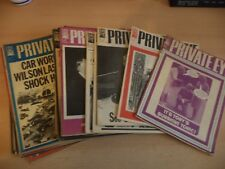 28 OLD VINTAGE 1970S MAGAZINES PRIVATE EYE SATIRE HUMOUR POLITICS 1971 - 1979