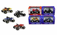 NEWRAY Motorcycles 1:32 ATV ASSORTMENT - HONDA & YAMAHA 06007 Set Of 4