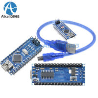 Mini USB Nano V3.0 ATmega328 16M 5V Micro-controller CH340G For Arduino +Cable