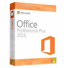 Microsoft Office 2016 Professional Plus MS Pro Key für 1 PC Lizenzschlüssel