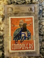 Drew Brees Signed Auto 2018 Classics Composers BAS Beckett New Orleans Saints
