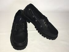 NAUTICA Boys Pier Youth Moc Toe Boat Shoes