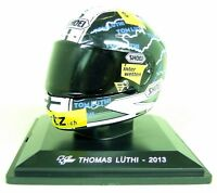Altaya 1/5 Scale - Thomas Luthi 2013 Shoei Moto GP Helmet with Plinth and Case