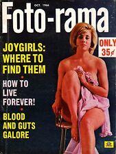 FOTO-RAMA October 1966 VICKY RAY Cover SOPHIA LOREN Broadway Hollywood Hotline