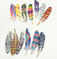 100 pcs beautiful natural Goose feather 15-20cm / 6-8 inch Various Color