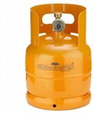 Bombola gas ricaricabile Eurocamping 1 Kg campeggio fornello barbecue arancio