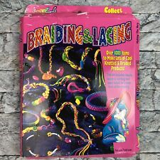 Vintage Lisa Frank Braiding  & Lacing Friendship Bracelet Jewelry Toy Kit