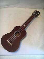 Uilani Pignose Saprano Ukulele Marrin Copy Mahogany Needs Repair New Strings