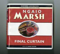 Final Curtain: by Ngaio Marsh - Unabridged Audiobook - 8CDs