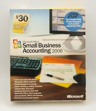 Microsoft Small Business Accounting 2006 PC CD-ROM software Windows 2000 XP NIB
