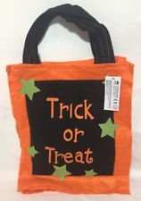 Halloween Trick or Treat Loot Party Pumpkin Tote Bags Kids Child Candy Bag Gift