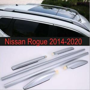 2014-2020 Alloy Top Roof Side Bars Rails Rack Luggage Carrier For Nissan Rogue