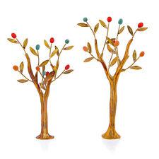 Olive Trees Set - Handmade Bronze & Ceramic Sculptures - Modern Art Table Decor