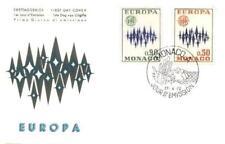Monaco 1972 FDC 1038-39b Europa Cept