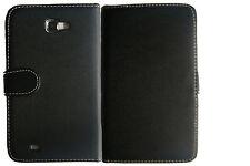 Extra Fine Black Leather Wallet Flip Case fr Samsung Galaxy Note GT-N7000 i9220