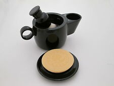 Shaving Mug Bowl Scuttle in Black