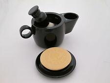 Shaving Mug Bowl Scuttle in Black