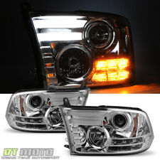 2013 2014 2015 2016 2018 Dodge Ram 1500/2500/3500 Lamps LED Projector Headlights
