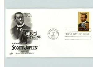 12 Different BLACK HERITAGE First Day of Issue incl. Dr. Martin Luther King, Sco