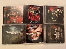 SLIPKNOT CD LOT OF 6! GRAY,WAIT,SELF TITLED,2 < 3,ALL HOPE,SUBLIMINAL!