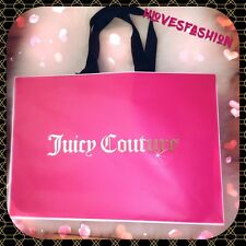 ✨💖JUICY COUTURE Shopping Bag Present Carrier Bag LARGE 46cm Gift Packaging💖✨