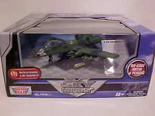 WWII US Army A-10A Thunderbolt II Airplane Diecast 1/72 Motormax 8 inch Green
