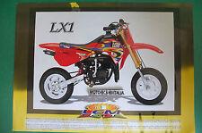 LEM LX1 LINE 99 DEPLIANT  BROCHURE PUBBLICITÀ  RECLAME PROSPEKT