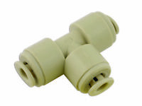 Push-Fit Tee Union 5/32In. Pk 10 Connect 31078
