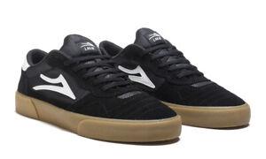 Lakai Skateboard Shoes Cambridge Black/Gum Suede Mens