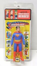 """2015 FIGURES TOY CO. DC KRESGE STYLE SUPERMAN 8"""" RETRO MEGO ACTION FIGURE"""