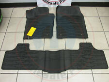 Jeep Grand Cherokee 2011 - 2012  Rubber Slush Mats NEW OEM MOPAR