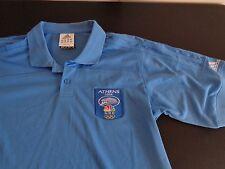 ATHENS 2004 Olympics ADIDAS Polo Shirt Size SMALL Climacool NBC Network Peacock