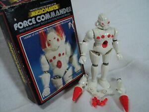 Vintage Mego MICRONAUTS - FORCE COMMANDER 100% complete w/ box (Toy 113)
