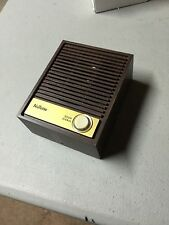 Nutone ISB-64 woodgrain Intercom Door speaker lighted push button