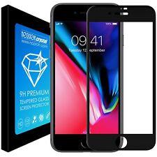 Noziroh Crystal Pellicola Vetro Temperato per Apple iPhone 8 5d Full Edge (d8i)